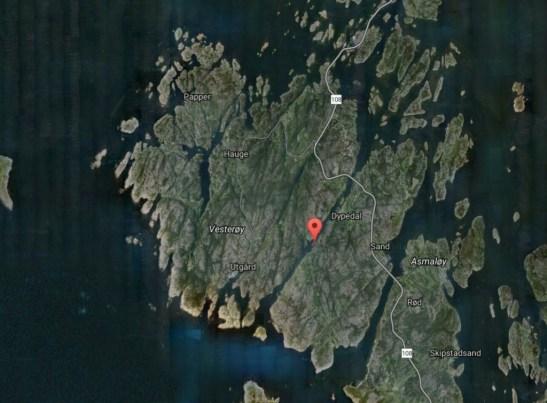 torskeskjær sjøørret plasser