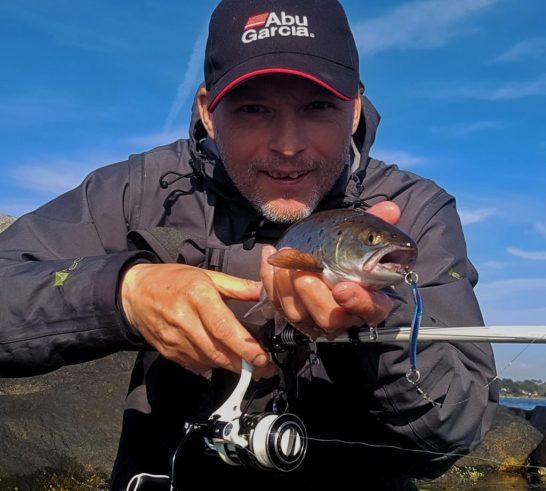 Noe av det beste jeg vet er å fiske sjøørret med sluk