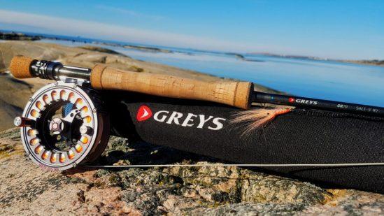 Mitt valg av fluestang til sjøørret. Greys GR 70 salt er laget av og for sjøørretfiskere.