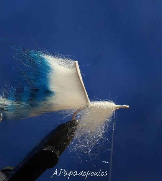 sjøørretflue - Bindebeskrivelse Zonker Baitfish.