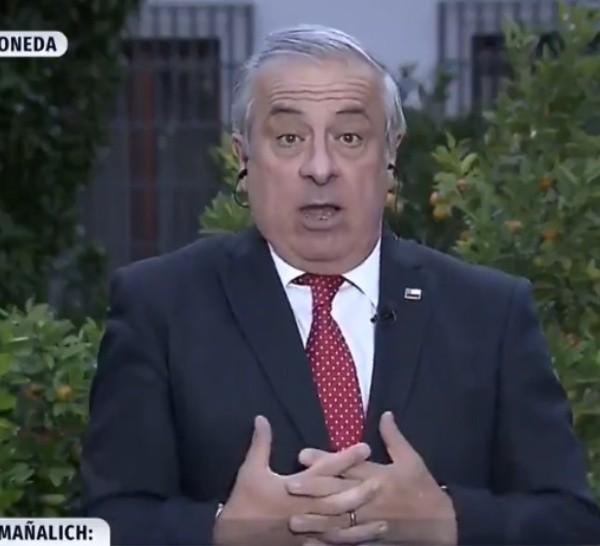 El ministro de Salud de Chile hizo polémicas declaraciones.