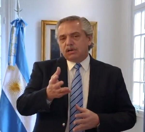 Esta vez Alberto Fernández no encabezó el anuncio por la continuidad del aislamiento.