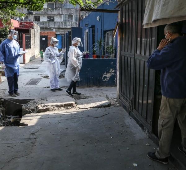 Rosario no tenía menos de 400 casos diarios desde el viernes 11 de septiembre.