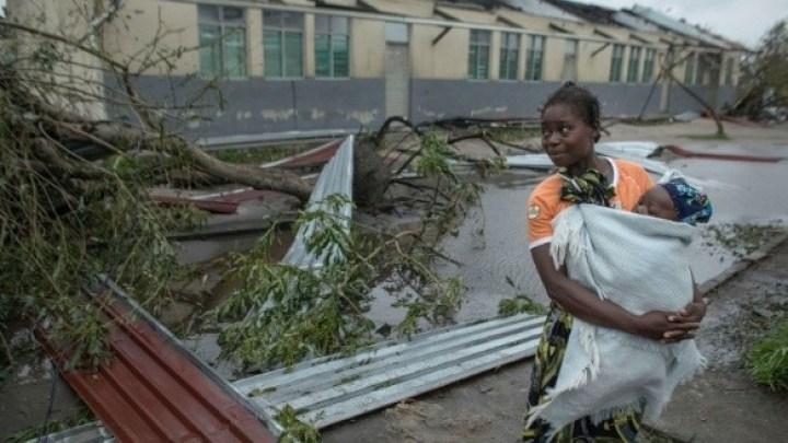 Ciclón mozambique,