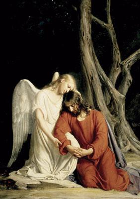 La agonía de Jesús en el huerto