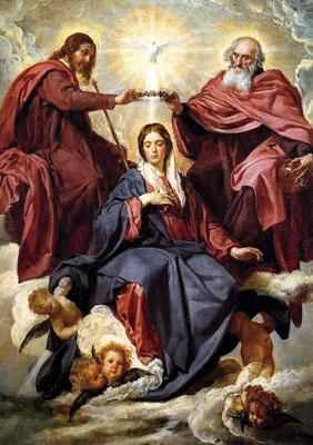 La coronación de María