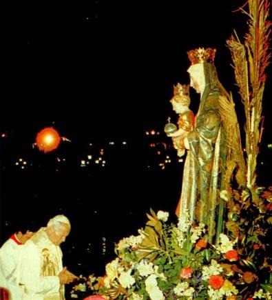 Juan Pablo II consagra Perú a la Virgen