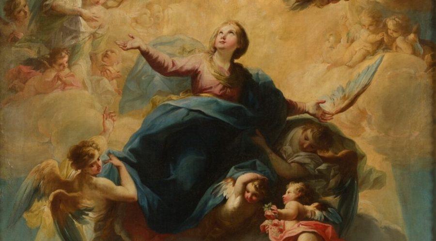 La Asunción de María a los cielos