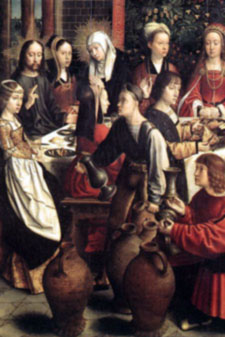 The wedding of Cana