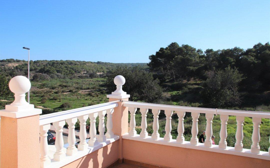 Duplex, Gran Alacant, Amazing country views, 2 gardens, 2 bed, 3 bath (GAFI4) NOW €146.000,-