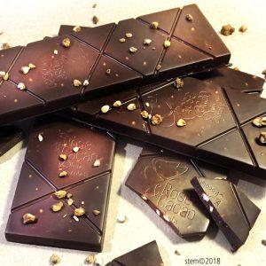 chocolat cru croustillant