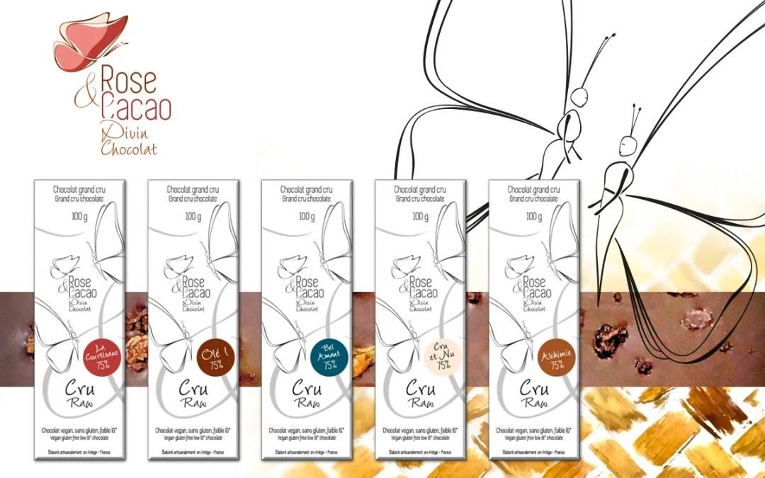 Concours : Gagnez votre Coffret Découverte du chocolat cru Rose & Cacao
