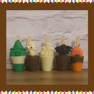 Halloween Hot chocolate stirrers