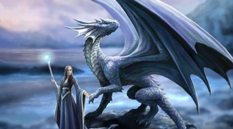 POETRY - AND THE WOMAN FELL IN LOVE' Of the Dragon-Rosalba saddle