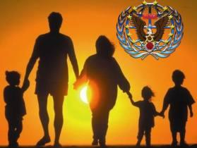 バラ色のロゴ 2 家族