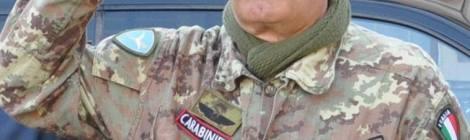 ROSEA - Giorgio Vinardi Brigadiere dei Carabinieri Paracadutisti  - ROSALBA SELLA
