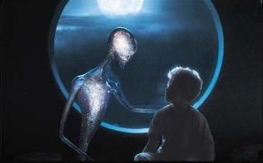 Seres de Ágora de luz ufo 3 janela