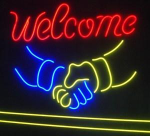 Willkommen Benvenuto Mani
