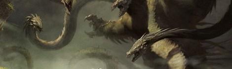 バラ色 -  黙示録 , 女性, ドラゴン, 子供 ... 予言?- ロザルバ サドル