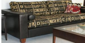 Upholstered Sofa NZ Leather