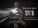 Word of the Week - Dub