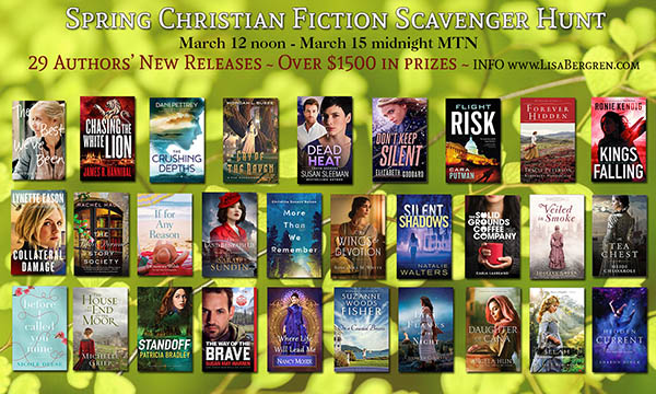 Christian Fiction Scavenger Hunt Stop #3
