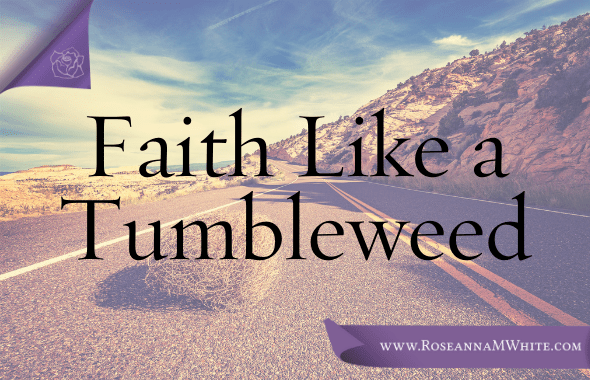 Thank you for your Prayers and Faith Like a Tumbleweed