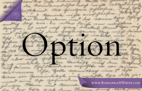 Word of the Week – Option