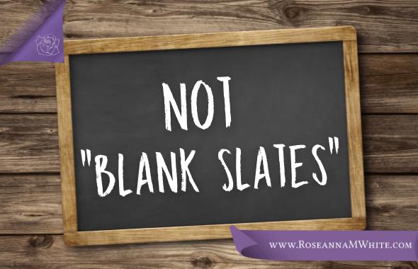 Not Blank Slates