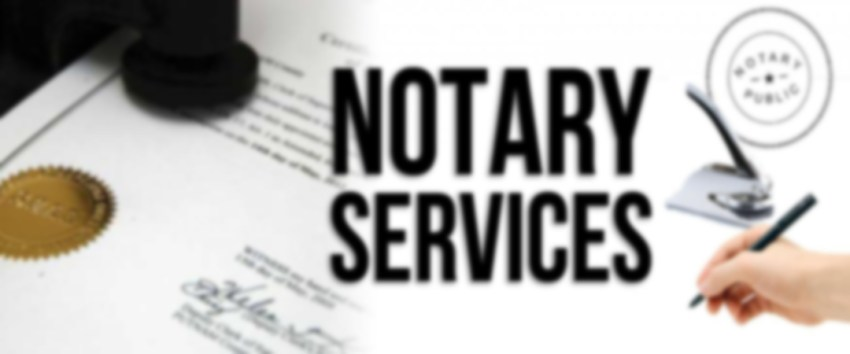 Notary Services - Roseanne Charles - Lawyer