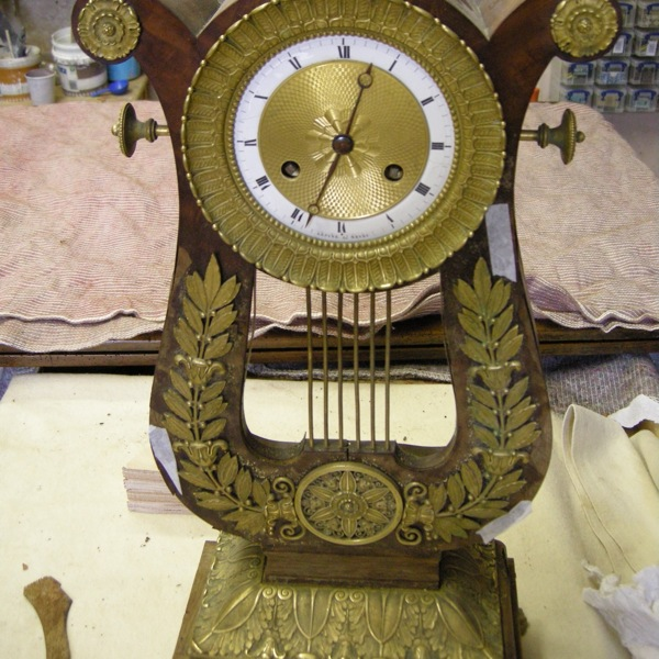 The clock as it arrived with me
