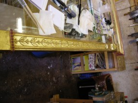 During gilding.