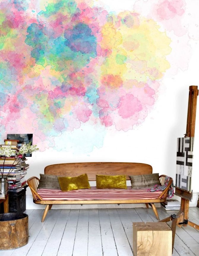 watercolor walls