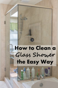 How to Clean a Glass Shower the Easy Way | https://www.roseclearfield.com