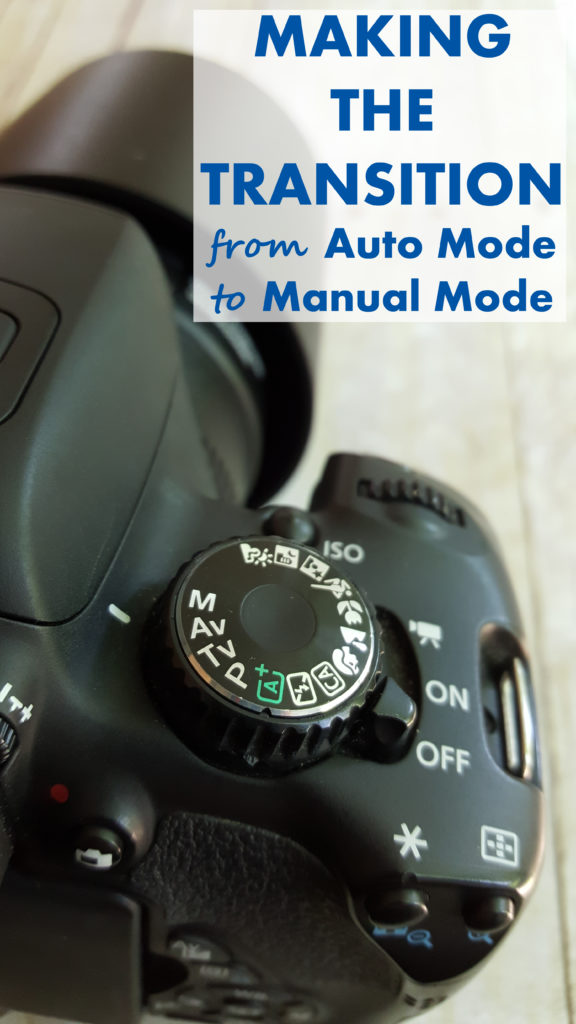 Making the Transition From Auto Mode to Manual Mode Header
