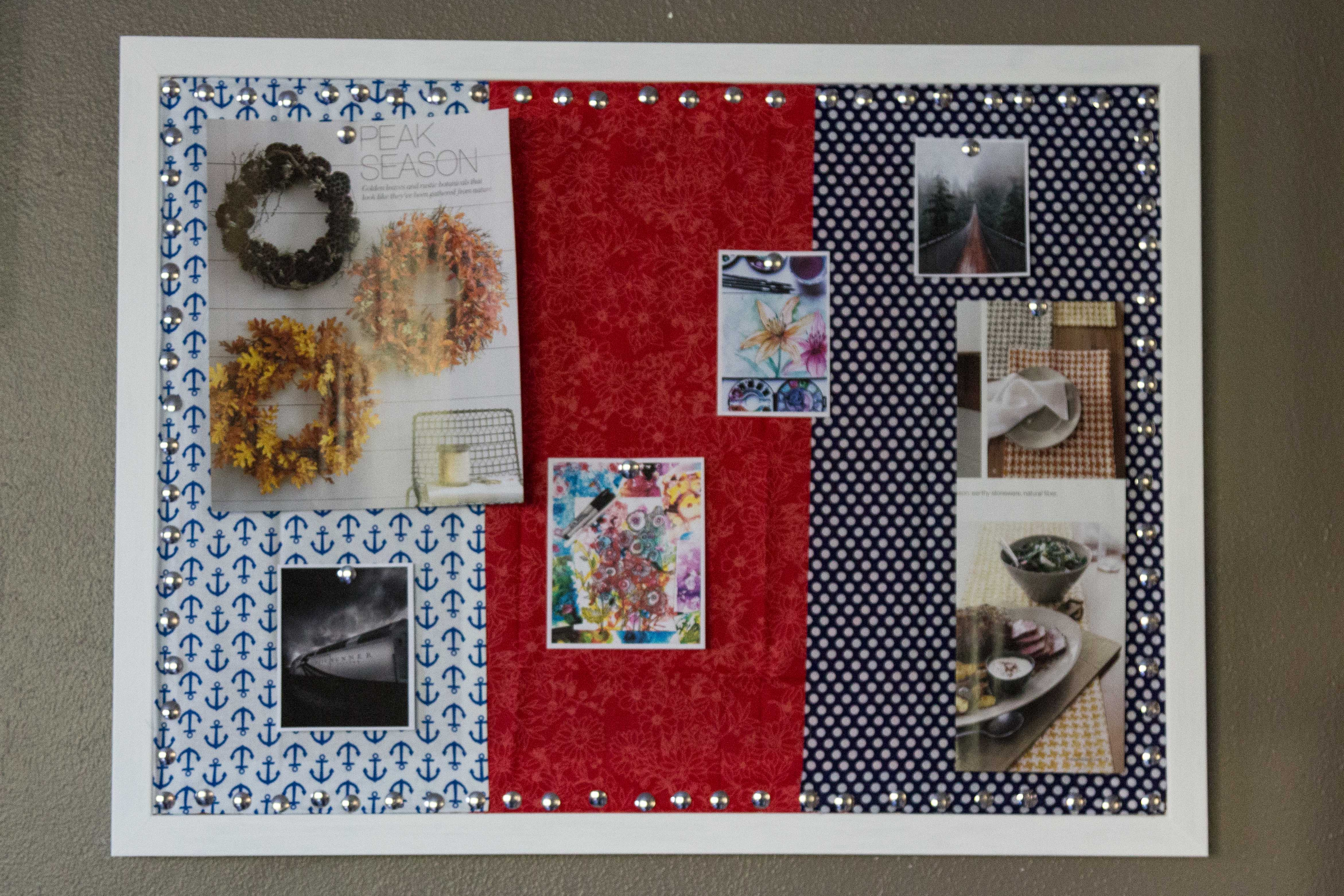 DIY Real Life Inspiration Board for a creative office or studio. | http://www.roseclearfield.com