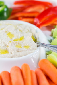 Homemade White Bean Cannellini Hummus | https://www.roseclearfield.com