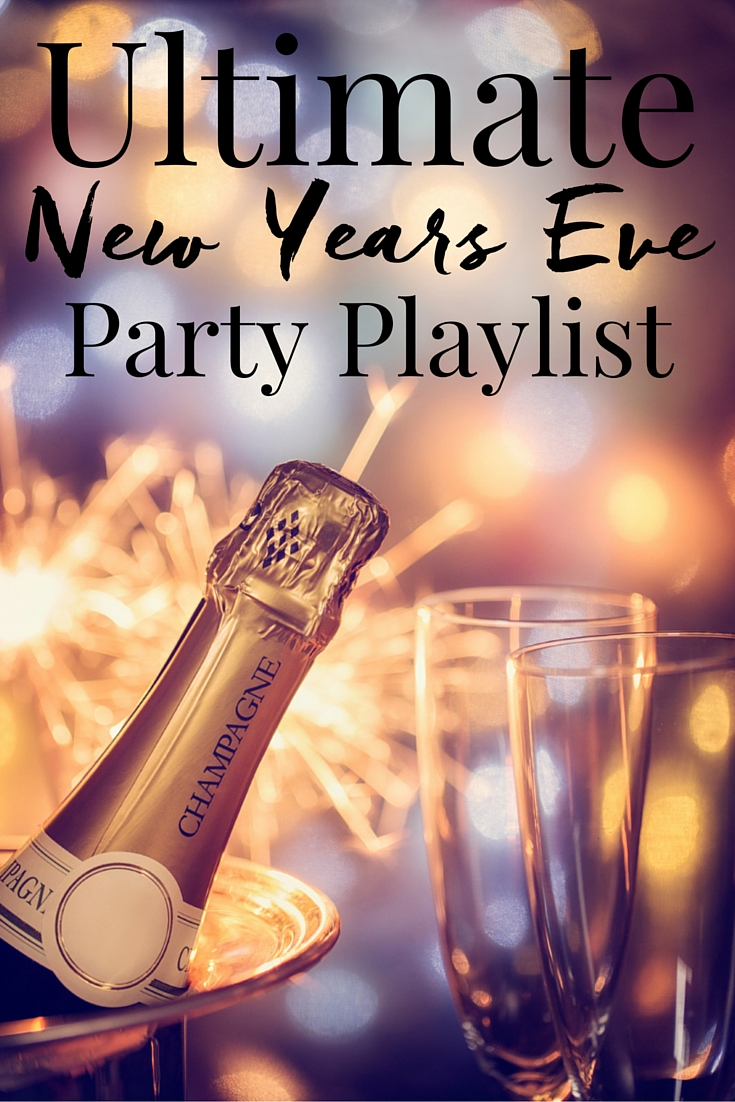 Last-Minute New Year's Eve Party Ideas - Ultimate New Year's Eve Party Playlist | http://www.roseclearfield