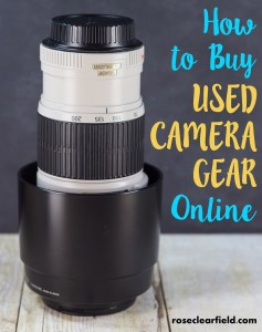 How to Buy Used Camera Gear Online | http://www.roseclearfield.com