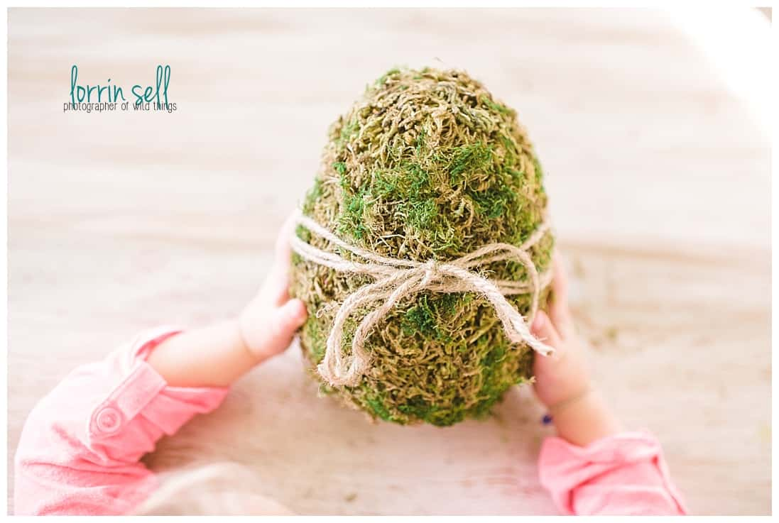 DIY Moss Covered Eggs via Itty Bitty by Lorrin | http://www.roseclearfield.com
