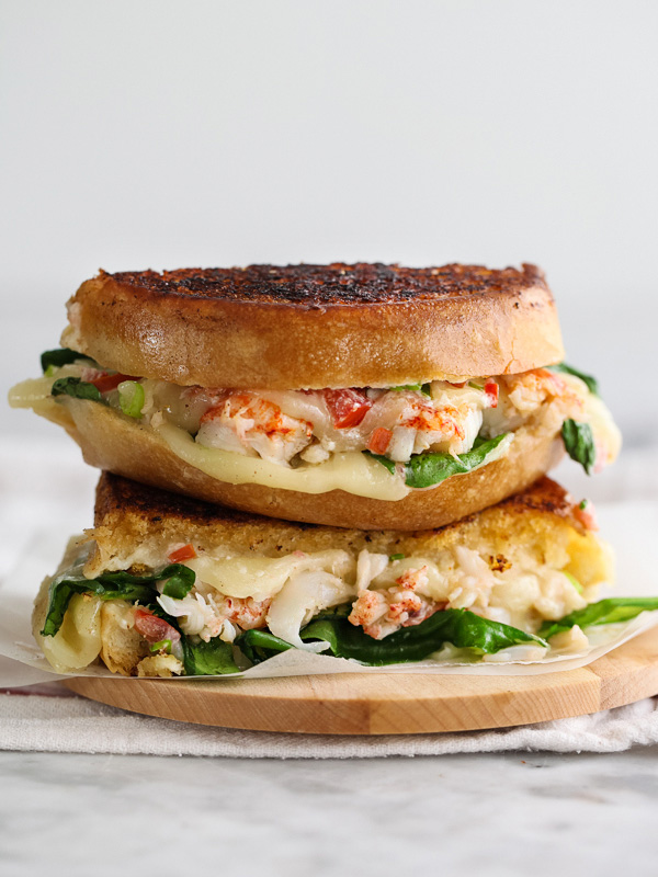 Kennebunkport Grilled Cheese Sandwich via Foodie Crush | http://www.roseclearfield.com