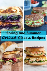Spring and Summer Grilled Cheese Recipes | http://www.roseclearfield.com