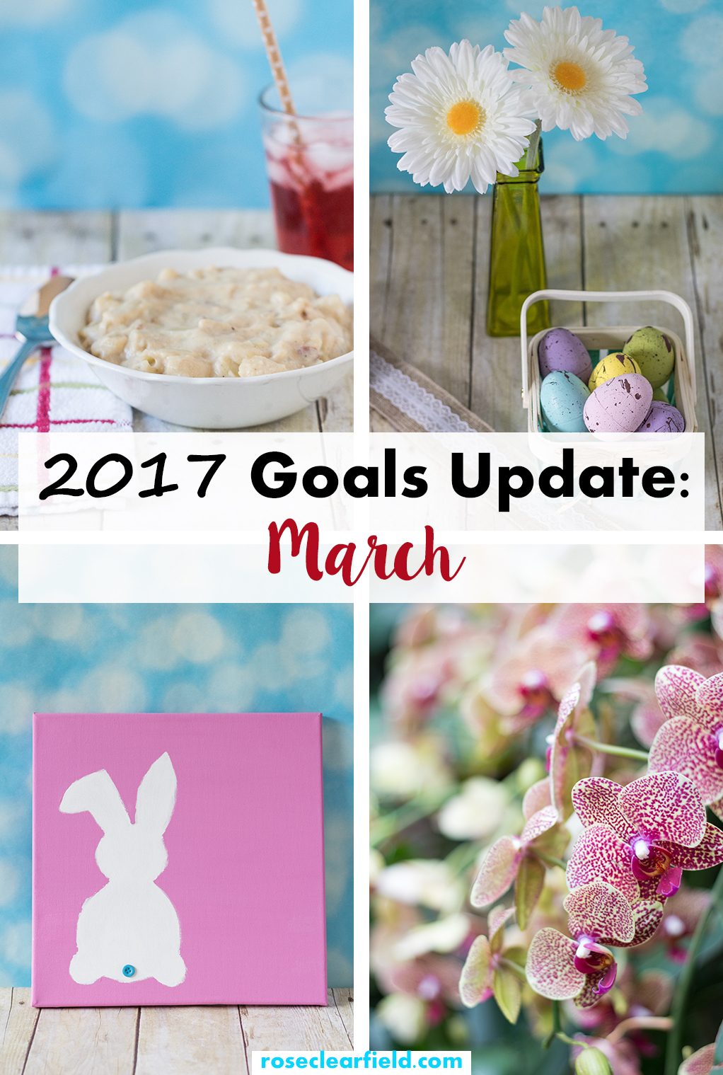 2017 Goals Update March   https://www.roseclearfield.com