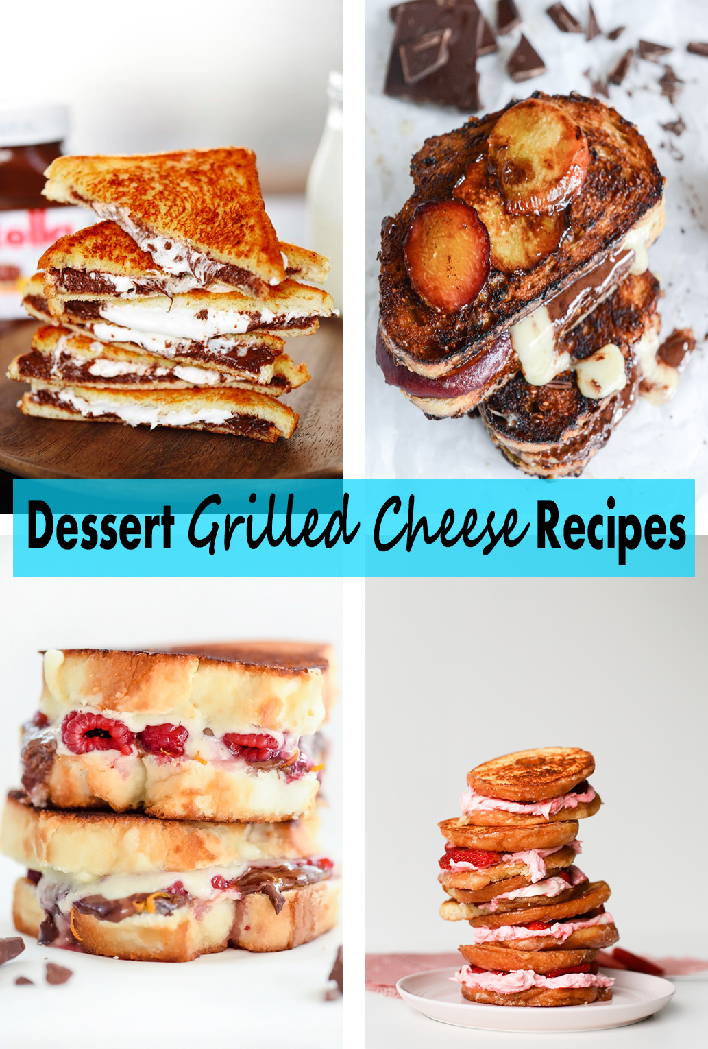 Dessert Grilled Cheese Recipes | http://www.roseclearfield.com