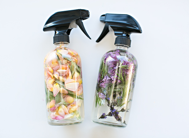 Floral Herb Room Spray via Hello Wonderful | http://www.roseclearfield.com