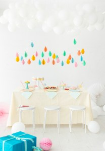 April Showers Bring May Flowers Baby Shower - April Baby Showers via Oh Happy Day   https://www.roseclearfield.com