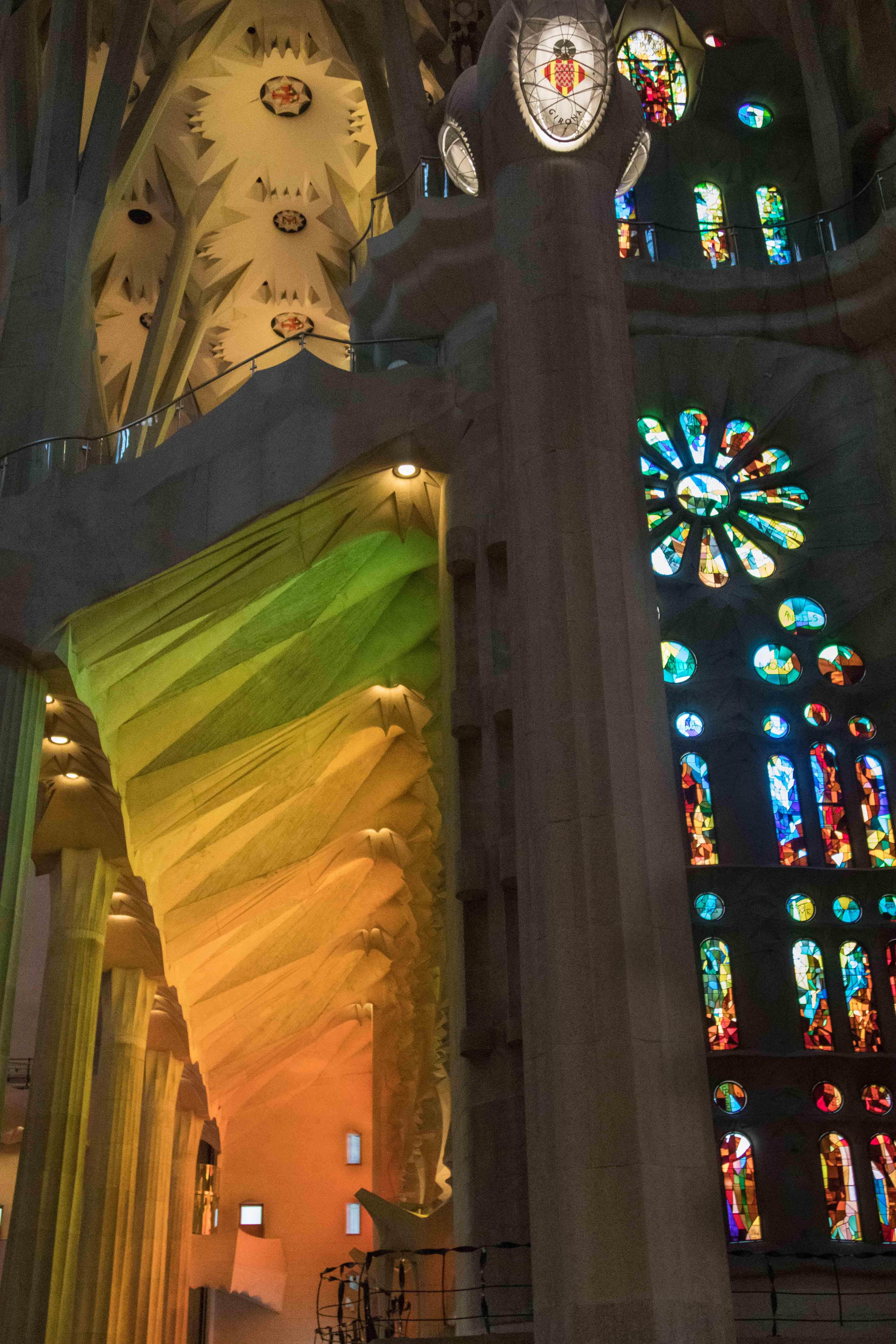 Barcelona Sagrada Familia Interior | http://www.roseclearfield.com