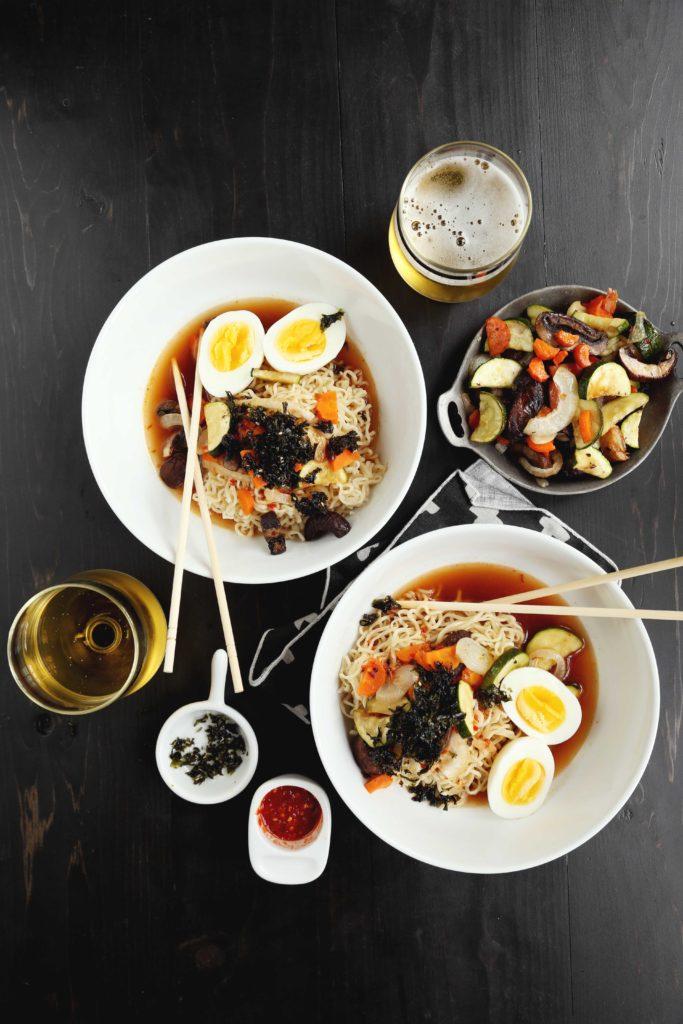 30 Healthy Ramen Noodle Recipes - Spicy Roasted Vegetable Ramen via Joy the Baker   https://www.roseclearfield.com