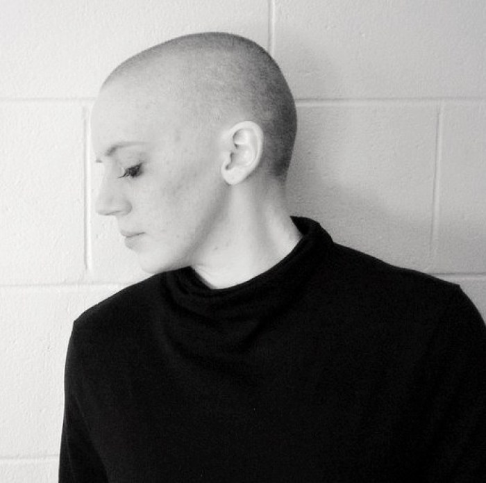Black and White Bald Photo