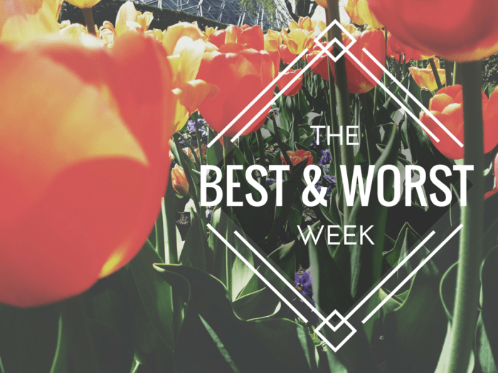 The Best and Worst Week
